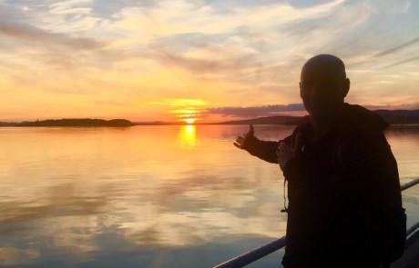 Andrea Polidoro tramonto da San Feliciano