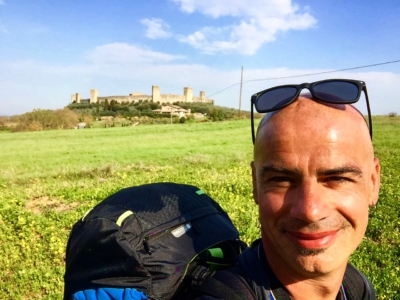 la guida ambientale Andrea Polidoro