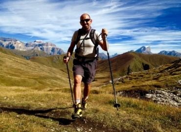 Fabrizio Pepini, fondatore associazione Camminare Guarisce