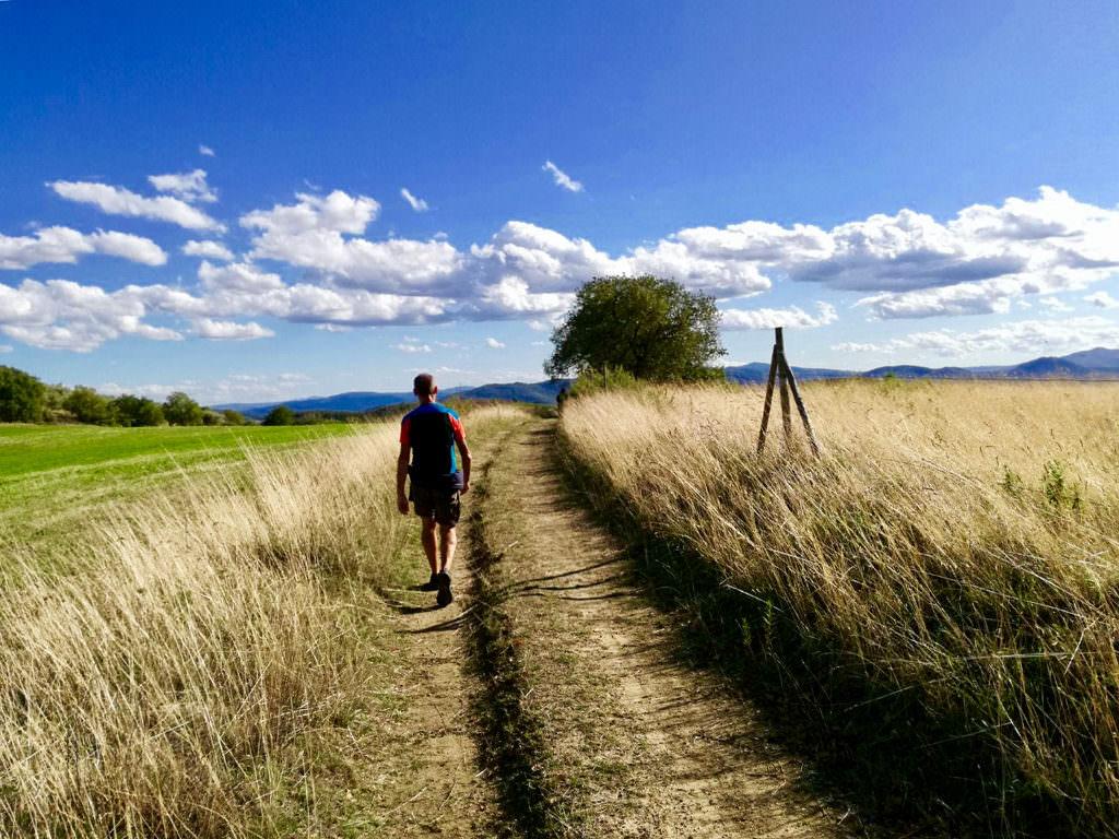 La Via del Trasimeno da Passignano a San Savino lungo il tragitto