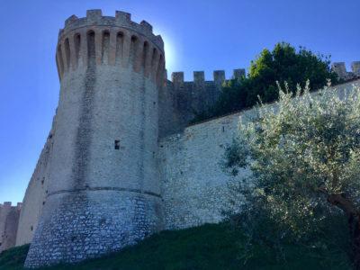 La via del Trasimeno - Rocca di Castiglione del Lago