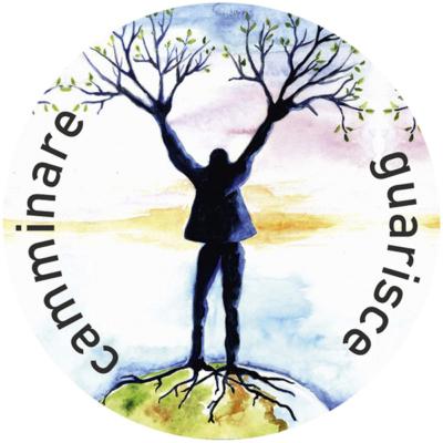Il logo dell'associazione Camminare Guarisce